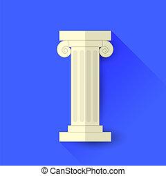 Single Greek Column