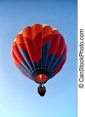 single hot air balloon