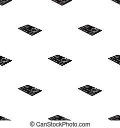 single icon in black style. Credit, vector symbol stock illustration web.