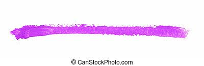 Single line marker stroke isolated - Single line marker...