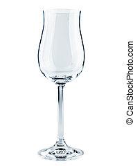 goblet - single modern goblet over the white background