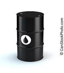 Single Oil Barrel