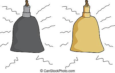 Single Ringing Bell