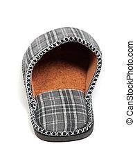 Single slipper isolated