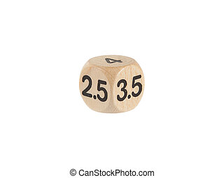 Single weird dice