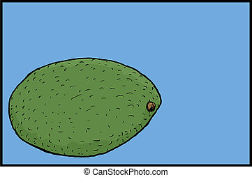 singolo, avocado