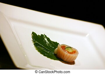 singolo, sushi