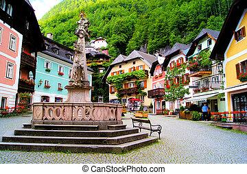 singular, austríaco, vila