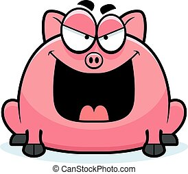 Love Wood Clipart Pig - 3 Little Pigs Clipart - Png Download (#1015109) -  PinClipart