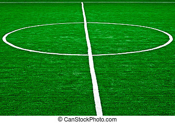 sintético, campo, 56, deportes