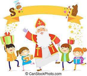 Sinterklaas and kids