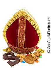 Sinterklaas miter - Miter from Sinterklaas with traditional ...