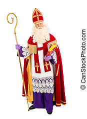 Sinterklaas on white background
