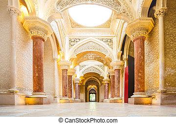 sintra, palota, portugália, monserrate