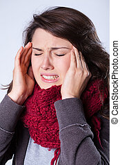 sinusite, souffrance