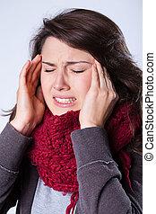 sinusitis, sofrimento