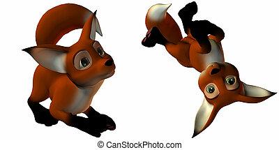 Sir Guy the Fox - 3D Render