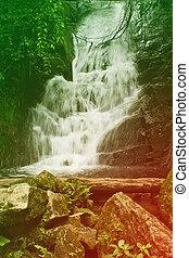 Siribhum waterfall in chaingmai