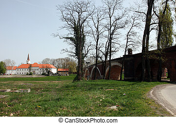 Sisak city in continental Croatia