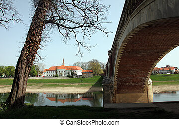 Sisak city in continental Croatia