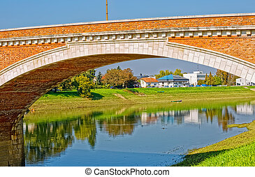 Sisak old bridge