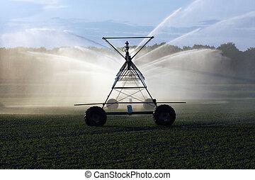 sistema irrigação
