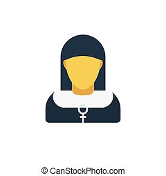 sister flat icon