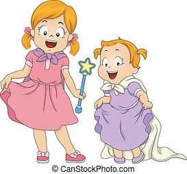 Sisters Cosplay
