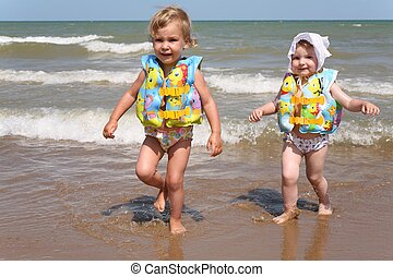 Sisters leave the sea
