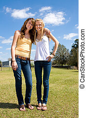 Sisters on the Farm