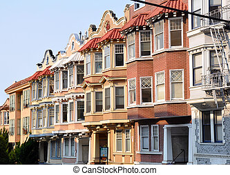 Sisters - Typical architecture for private houses near ...