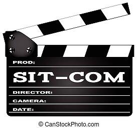 Sitcom Clapperboard