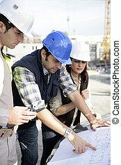 site, architectes