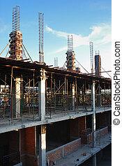 site, construction