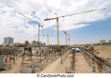 site., construction
