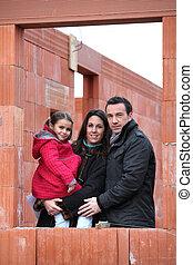 site construction, famille