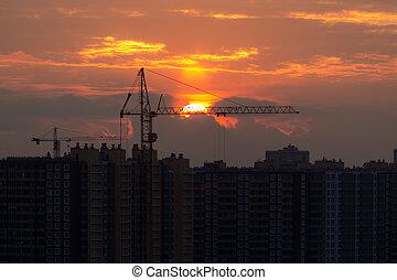 site construction, nouvelle maison