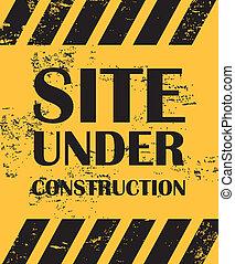 site construction, sous
