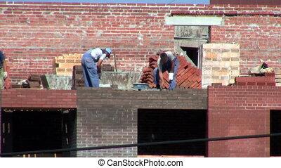 site construction, travaux