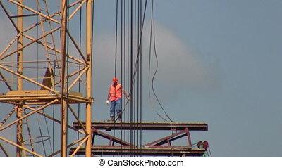 site., construction, travaux