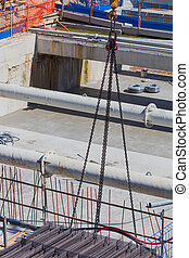 site construction, vue