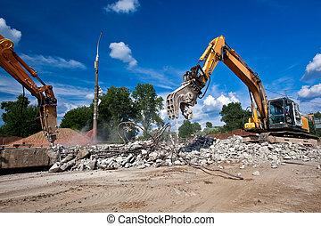 site démolition