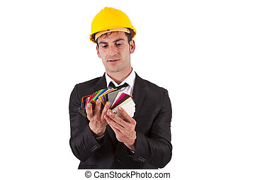 Site Manager with palette