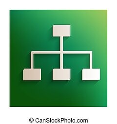 Site map icon - site map icon for your projects. Paper...