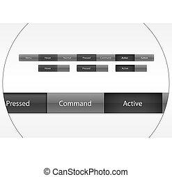 Site menu buttons
