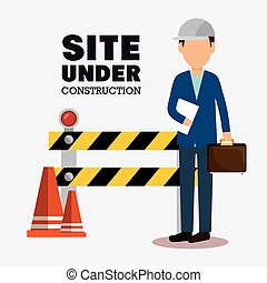 site under construction icon
