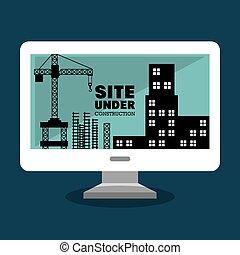 site under construction icon