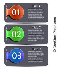 site web, 10, elementos, set., eps, vetorial, desenho