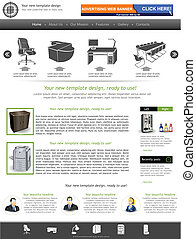 site web, 28, gabarit