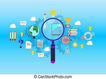 site web, apartamento, tudo, direita, educação, projete profissão, perguntas, resposta, bandeira, achar